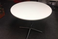 Used White Wood Top Meeting Tables