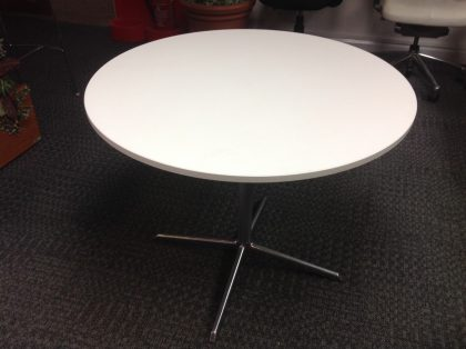 White Wood Top Meeting Tables