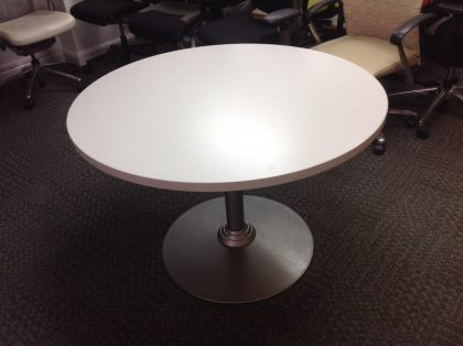 White Wood Top Meeting Table