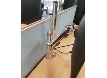 Humanscale Chrome Monitor Arms