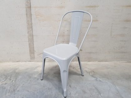 Grey Metal Cafe Chairs