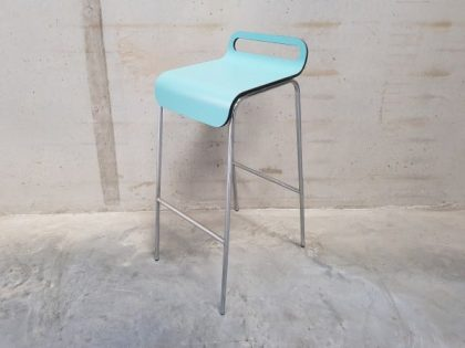 Turquoise High Bar Stools