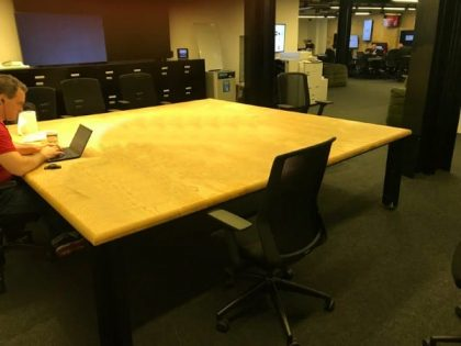 Ash Boardroom Table