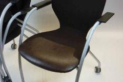 Orangebox X10 Mobile Meeting Chairs (brown)
