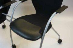Orangebox X10 Mobile Meeting Chairs (black)