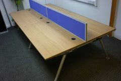 Oak Bench Desks