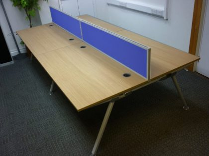 Senator Core Oak Bench Desks