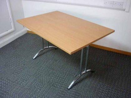 Beech Folding Leg Tables