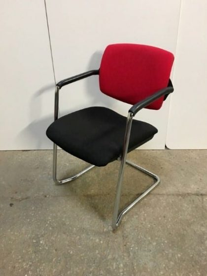 Red/Black Meeting Chairs