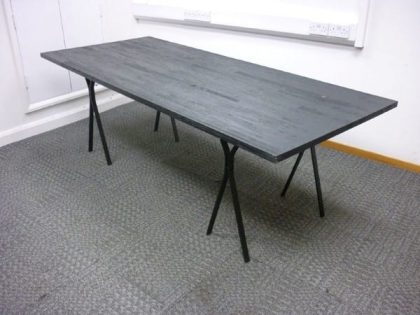 Industrial Style Black Meeting Tables