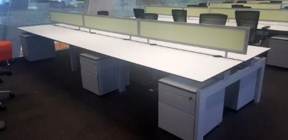 Techo Platform Bench Desks