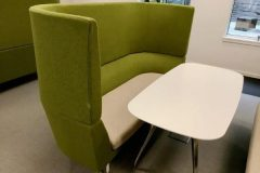 Green Orangebox Cwtch Acoustic Sofas