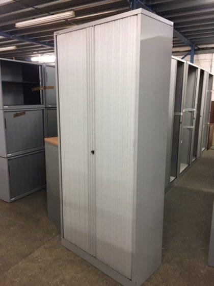 Tall Tambour Door Cupboards