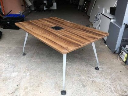 Walnut Meeting Table