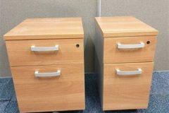 Cherry Mobile Under Desk Pedestals