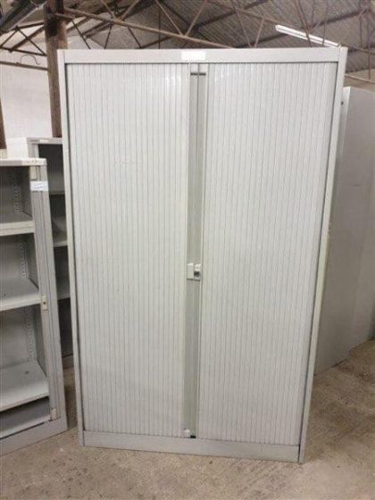 Metal Tambour Cupboards