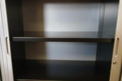 Task Silver Tambour Cupboards