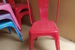 Tolix Retro Café Chairs