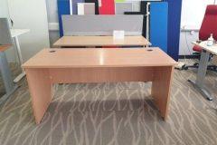 Beech Freestanding Desks