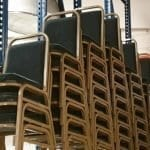 Used Green Banqueting Chairs