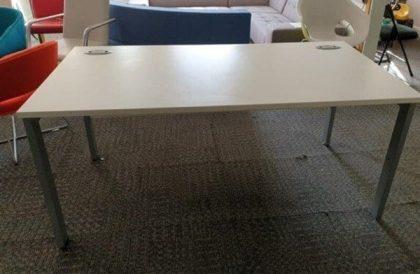 White Freestanding Desks