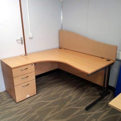 Beech Corner Desks
