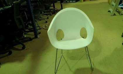 Connection White Tub Chairs