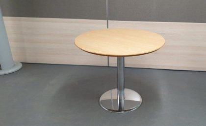 Oak Circular Tables