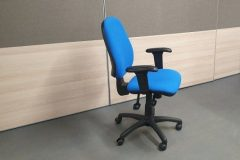 Royal Blue Operator Chairs