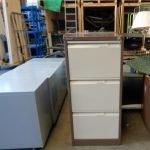 Used Bisley 3 drawer filing cabinet