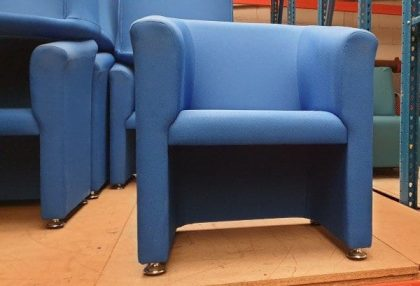 Royal Blue Tub Chairs