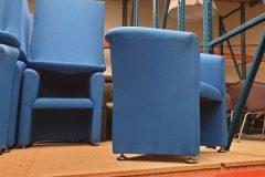 Royal Blue Tub Chairs