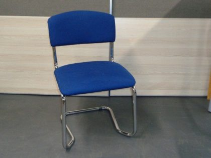 Blue Stacking Meeting Chairs