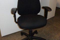 Black Fabric Operator Chairs