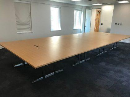 Large OakBoardroom Table