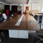 Used Large Walnut Boardroom table