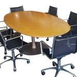 Used Maple Boardroom Table