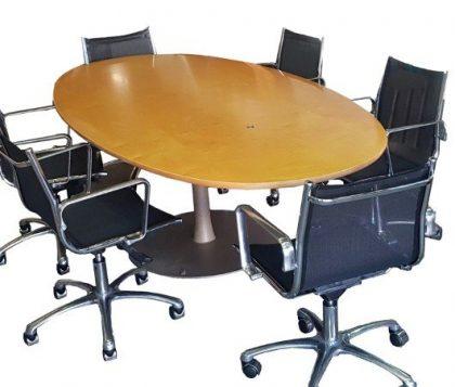 Maple Boardroom Table