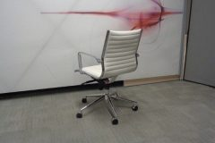 Eames Style White Meeting Chairs