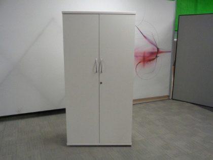 White Storage Cupboards