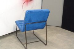Teal Velour Lounge Chairs